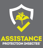 Assistance protection insectes